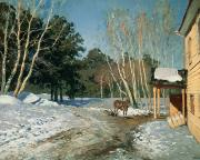 Isaak Ilyich Levitan - March