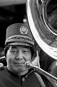 Marching Band Photos - Marching Band Musician Lunar New Year NYC Chinatown 2012 by Robert Ullmann