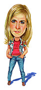 Caricatures Art - Maria Bamford by Art
