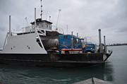 Randy J Heath - Marine City Mich car truck ferry