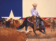 Hall Originals - Matlock Rose On Peponita by Howard Dubois