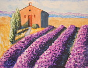 Ann Sokolovich - Mausoleum and Lavender