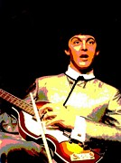 Beatles Mixed Media - McCartney by Spencer McKain
