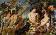 Jacob Jordaens - Meleager and Atalanta