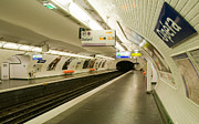 Paris Photos - Metro Station in Paris by Kent Sorensen