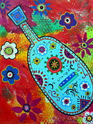 Pristine Cartera Turkus - Mexican Folk Art Guitar
