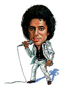 Caricature Art - Michael Jackson by Art