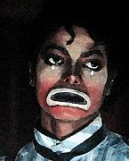 "Samantha's ""Remember the Time"" Clue - It was REAL Michael-jackson-sad-clown-david-devries"