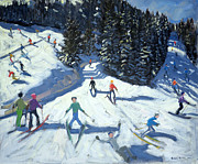 Andrew Macara - Mid-morning on the Piste