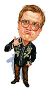 Comical Prints - Mike Smith as Bubbles Print by Art