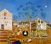 Modern Art Prints - Miro Farm 1921-22 Print by Granger