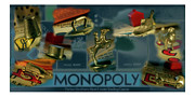 Game Piece Photos - Monopoly 07 by Aaron Bales