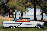 1956 Mercury Montclair Acrylic Prints - Montclair Acrylic Print by Bill Dutting
