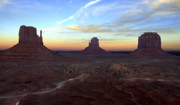 Mike McGlothlen - Monument Valley Just After Sunset
