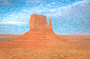 Clarence Holmes - Monument Valley Left Mitten