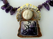 Hand Made Jewelry - Moon King by Beverly Fox