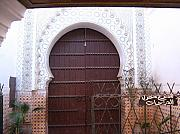 Yvonne Ayoub - Moroccan Marrakesh Mosque Door 01