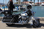 Wingsdomain Art and Photography - Motorcycle Police At The San Francisco...