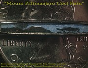 Nanomicroinfinity Art Reliefs Prints - Mount Kilimanjaro Cool Rain  Print by Phillip H George