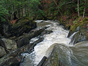 Mountain Stream Photo Posters - Mountain Stream 2 Poster by John Burnett
