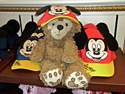 Disney Bear Photos - Mouseketeer Bear by Thomas Woolworth