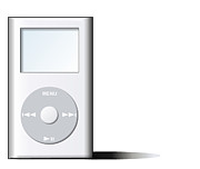 Music Ipod Originals - Mp3 Player by Wayne Pascall