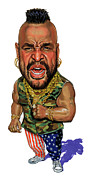 Icon Painting Prints - Mr. T Print by Art