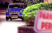 Cheeky Photo Framed Prints - Mumbai Taxi Framed Print by Richard Piper