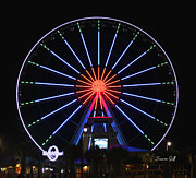 Suzanne Gaff - Myrtle Beach Sky Wheel at Night IV