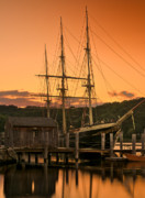 Thomas Schoeller - Mystic Seaport Sunset-Joseph Conrad...