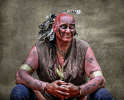 Randy Steele - Native American Reenactor Portrait