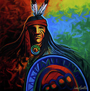Southwest Indians Paintings - Native Colors by Lance Headlee