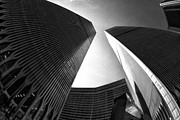 Twin Towers World Trade Center Prints - Never Forget Print by Keith Kapple