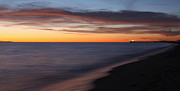 Evening Scenes Photos - New Years Sunset 2012 by Ron  Romanosky
