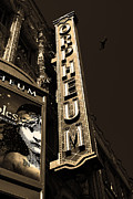 Wingsdomain Art and Photography - Nightfall at The Orpheum - San...
