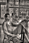 Young Man Photo Originals - Ninety Six in the Shade by William Fields