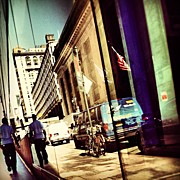 Midtown Art - #nyc #midtown #reflections #peacefulrush by Missy Lane