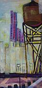 Cheryl Edwards - NYC Water Towers Triptych