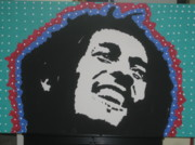 Batman Stencil Art - Oh Marley Where Are You Now by Robert Margetts