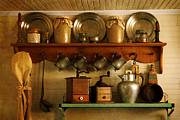 Butter Molds Photos - Old Country Life by Carmen Del Valle