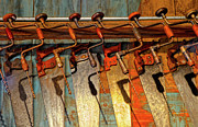 Old Saws Framed Prints - Old Drills and Saws Framed Print by Dave Mills