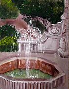 Anne Cameron Cutri - Old Fountain