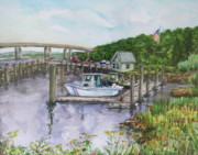 B Rossitto - Old Lyme Boat Yard at the DEP