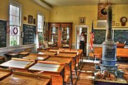 Country Schools Photo Prints - Old School II Print by Agrofilms Photography