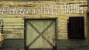 Time Gone By Photos - Old Service Station by Jeff Lowe