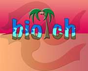 Slang Digital Art - OMG biotch by Linda Seacord