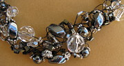 Wire Jewelry - Onyx and Ice by Annette Tomek