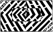 Yonatan Frimer - Optical Illusion Maze of...