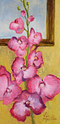 Vic Mastis Paintings - Orchid Delight by Vic  Mastis