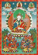 Chenrezig Prints - Padmasambhava Print by Sergey Noskov